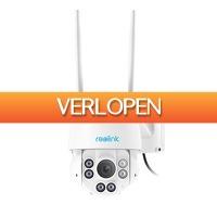 Epine.nl: Reolink RLC-423WS 5MP Buiten WiFi PTZ IP Camera