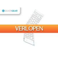 DealDonkey.com 4: Silvergear opvouwbaar bluetooth toetsenbord