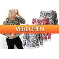 VoucherVandaag.nl 2: Panterprint sweater