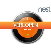 iBOOD.be: Nest Learning Thermostat 3e Generatie