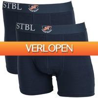Suitableshop: Suitable boxershort 2-pack Navy