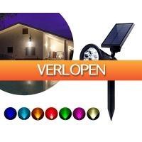 Groupdeal 2: Multicolor solar lamp