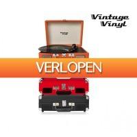 Koopjedeal.nl 1: Vintage Vinyl Retro platenspelers