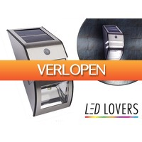 DealDonkey.com 2: LED Lovers Solar LED muurlamp