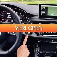 Priceattack.nl: Design Bluetooth Carkit + FM Transmitter + MP3 speler