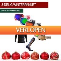 1dagactie.nl: Winterpakket: skibril, thermoshirt en skisokken