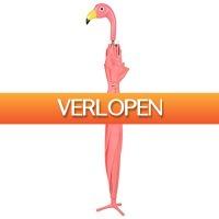 Gadgetknaller: Esschert Design paraplu flamingo