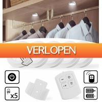 6deals.nl: Draadloze LED-spots