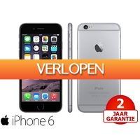 Telegraaf Aanbiedingen: Apple iPhone 6 16 GB refurbished