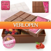 voorHAAR.nl: Chocolate lunchbox