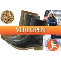 VoucherVandaag.nl 2: Gevoerde Zipper enkellaarsjes