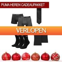 1dagactie.nl: Puma heren cadeaupakket zwart