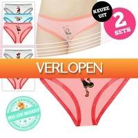 voorHAAR.nl: 3 x Minnie Mouse of Olijfje ondergoed