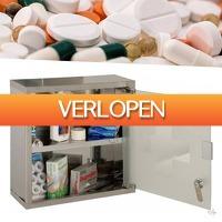 Wilpe.com - Home & Living: Excellent Care medicijnkast RVS