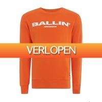 Onedayfashiondeals.nl 2: Ballin Amsterdam Original Crewneck M Orange