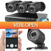 Epine.nl: Zmodo ZS-1NL4-B HD sPoE Camerasysteem zwart