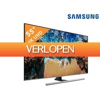 iBOOD.com: Samsung UE55NU8000 4 K smart TV