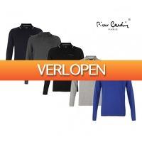 Koopjedeal.nl 2: Stijlvolle Pierre Cardin longsleeve poloshirts