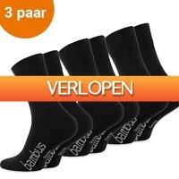 CheckDieDeal.nl: 3 paar bamboe sokken heren en dames