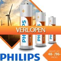 Euroknaller.nl: Philips Longlife batterijen