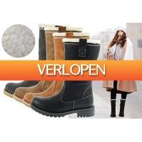 VoucherVandaag.nl: Gevoerde teddy boots