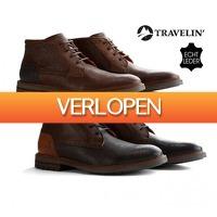 Koopjedeal.nl 2: Travelin Backhill Lederen Herenschoenen