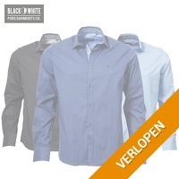 Black & White overhemden