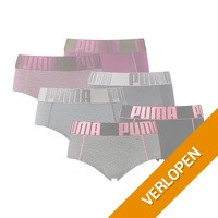 6-pack Puma dames boxershorts