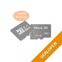 Micro SD-kaarten inclusief adapter
