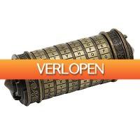 Priceattack.nl: Leonardo da Vinci Code Cryptex