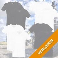 6 x Vinnie-G heren T-shirts