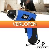 Wilpe.com - Tools: Kynast accu schroevendraaier 3,6V