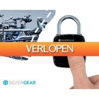 1DayFly Tech: Silvergear vingerafdruk hangslot
