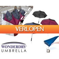 1DayFly Sale: Wonderdry umbrella: de slimme paraplu