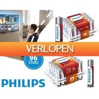 1DayFly: 96 AA of AAA Philips Power alkaline batterijen