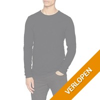 Casual Friday pullover met ronde hals