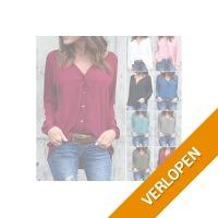 Fijne dames blouse