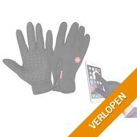 Touchscreen sport handschoenen