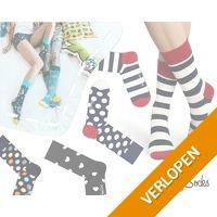6 paar Happy Socks sokken