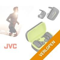 JVC draadloze sport oortjes