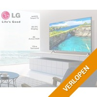 LG 43 inch ultra HD 4K smart TC