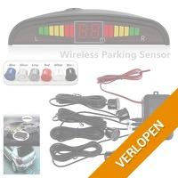 Draadloze LED parkeersensoren