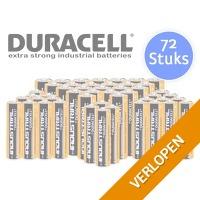72 x Duracell Industrial batterijen