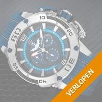 ISW Sports Carbon Fiber Chronographs horloge