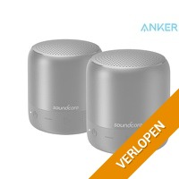 2 x Anker Soundcore Mini 2 Bluetooth speaker