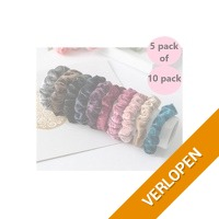 Scrunchies 5 pack of 10 pack