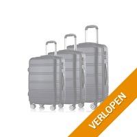 Kofferset - 3 ABS koffers