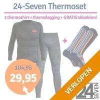 24-Seven thermoset met gratis skisokken