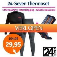 1dagactie.nl: 24-Seven thermoset met gratis skisokken