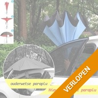 Unieke reverse paraplu